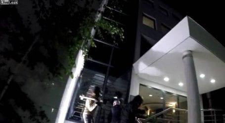 Επίθεση του Ρουβίκωνα στα γραφεία του Μυτιληναίου