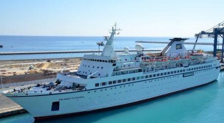 Στο λιμάνι του Βόλου κρουαζιερόπλοιο με 650 άτομα