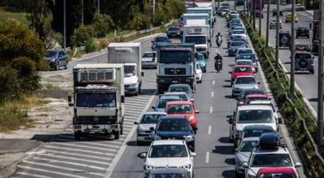 Αυξημένα τα μέτρα της Τροχαίας για την έξοδο του Δεκεπανταύγουστου
