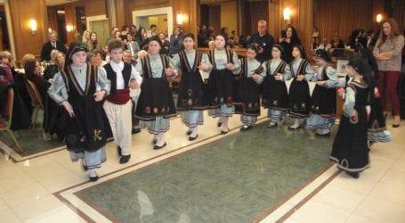 Τμήματα παραδοσιακού χορού από τον Σύλλογο Σοφαδιτών Μαγνησίας