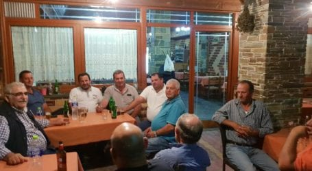 Με τους κτηνοτρόφους στα Καλύβια Ελασσόνας ο Νίκος Παπαδόπουλος