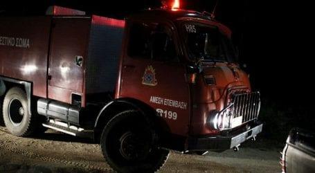 Υπό έλεγχο πυρκαγιά στα Κάτω Πατήσια