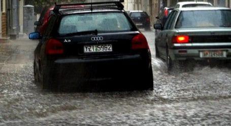 Ισχυρές βροχοπτώσεις στην Κρήτη