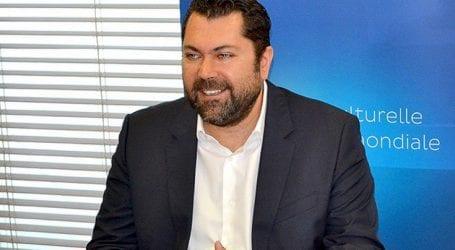 Στα εγκαίνια του 41ου Φεστιβάλ Δράμας ο υφυπουργός ΨΗΠΤΕ Λ. Κρέτσος
