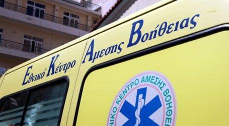 Αυτοκίνητο παρέσυρε άντρα στο κέντρο της Λάρισας