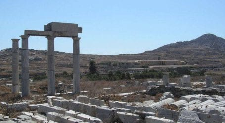 «Πράσινο φως» για την αναστήλωση του Ναού του Απόλλωνα στη Δήλο