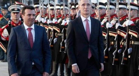 «Η πόρτα του ΝΑΤΟ είναι ανοιχτή, ο λαός της ΠΓΔΜ θα αποφασίσει αν θα τη διαβεί»