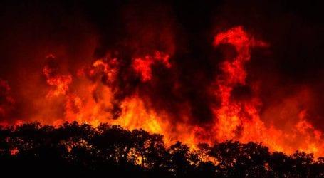 Πυρκαγιά ξέσπασε στο χωριό Αργάσι της Ζακύνθου