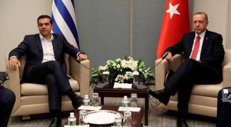 Πρόσκληση Ερντογάν σε Τσίπρα για επίσκεψη στην Κωνσταντινούπολη