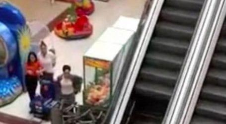 Ξήλωσαν τις κυλιόμενες σκάλες σε εμπορικό κέντρο λόγω χρεών