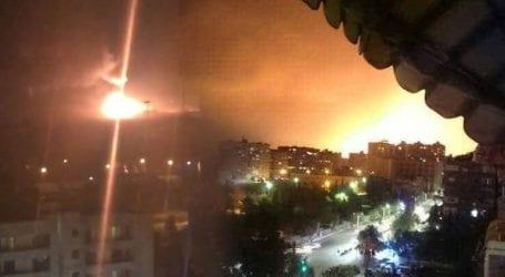 Σε «βραχυκύκλωμα» οφείλονται οι εκρήξεις στο αεροδρόμιο της Δαμασκού, σύμφωνα με συριακά μέσα