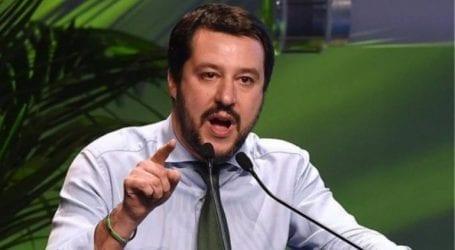 Ο Ματέο Σαλβίνι επιρρίπτει την ευθύνη στην Άγγελα Μέρκελ για τα επεισόδια στην Κέμνιτς