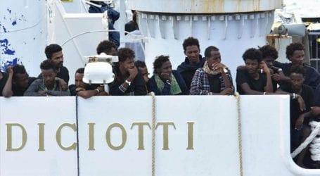 Σαράντα μετανάστες του πλοίου Diciotti εγκατέλειψαν κέντρο φιλοξενίας της Καθολικής Εκκλησίας