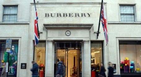 Ο οίκος μόδας Burberry σταματά την καύση προϊόντων που δεν έχουν πωληθεί