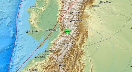 Ισχυρή σεισμική δόνηση 6,2R στον Ισημερινό