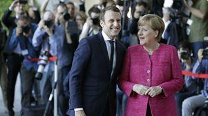 Μακρόν και Μέρκελ συναντώνται σήμερα για να εδραιώσουν τον προοδευτικό άξονα της ΕΕ