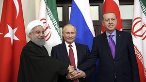 Ρωσία, Ιράν και Τουρκία δεν κατάφεραν να ξεπεράσουν τις διαφορές τους για το ζήτημα του Ιντλίμπ