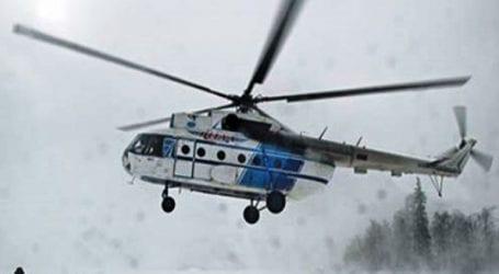Συνετρίβη ελικόπτερο με επτά επιβαίνοντες