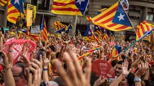 Ισπανία: Στους δρόμους ένα εκατομμύριο Καταλανοί