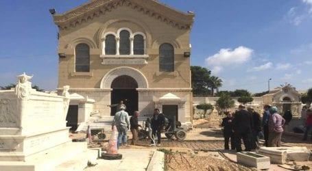 Στις 28 Οκτωβρίου, τα θυρανοίξια του ιστορικού ναού των Ελληνικών Κοιμητηρίων της Αλεξάνδρειας