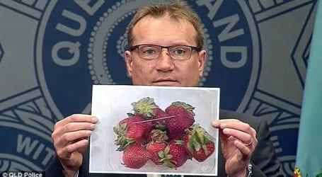 Συναγερμός στις αρχές καθώς φράουλες με βελόνες εντοπίστηκαν σε όλη τη χώρα