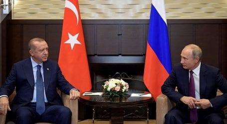 Συμφωνία κορυφής Πούτιν – Ερντογάν