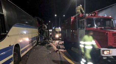 Τέσσερις νεκροί και 57 τραυματίες σε τροχαίο στη Ρωσία
