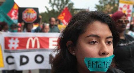 Εργαζόμενοι στα McDonald's διαμαρτυρήθηκαν κατά της σεξουαλικής παρενόχλησης