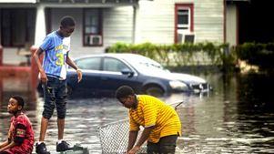 Στη Βόρεια Καρολίνα που επλήγη από τον κυκλώνα Φλόρενς ο Ντ. Τραμπ