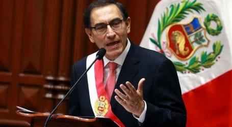 Η κυβέρνηση του προέδρου Μαρτίν Βισκάρα έλαβε ψήφο εμπιστοσύνης από το Κογκρέσο