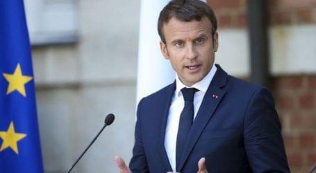 O Mακρόν κάλεσε του Ευρωπαίους να «παραμείνουν ενωμένοι»