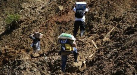 Στους 12 ο αριθμός των νεκρών από τη νέα κατολίσθηση στο κεντρικό τμήμα της χώρας