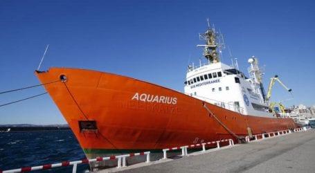 Το πλοίο Aquarius σε αναζήτηση λιμανιού υποδοχής για 11 μετανάστες που διέσωσε ανοιχτά της Λιβύης