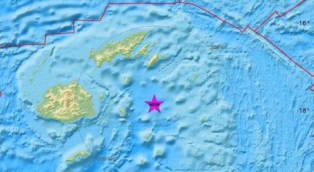 Σεισμική δόνηση 5,9R ανοικτά των Φίτζι