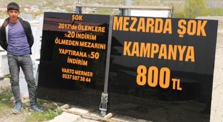 Η κρίση στην Τουρκία χτύπησε και τα… νεκροταφεία