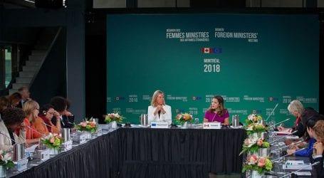 Στο Μόντρεαλ πραγματοποιείται η πρώτη σύνοδος γυναικών υπουργών Εξωτερικών