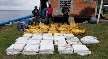 Κατασχέθηκε πάνω από ένας τόνος κοκαΐνη στον Ισημερινό