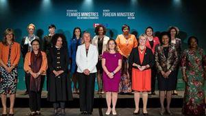 Οι γυναίκες ΥΠΕΞ δεσμεύτηκαν στη σύνοδο στο Μόντρεαλ να συναντώνται τακτικά