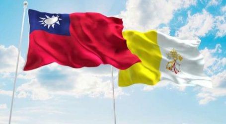 Η Ταϊπέι θα παρακολουθεί στενά την εξέλιξη των σχέσεων μεταξύ της Αγίας Έδρας και της Κίνας
