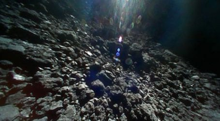 Το πρώτο βίντεο και φωτογραφίες του αστεροειδούς Ριούγκου από ιαπωνικά «ρόβερ»