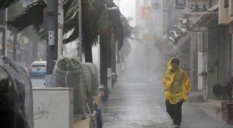 Πέντε άνθρωποι τραυματίστηκαν από τον ισχυρό τυφώνα Τράμι