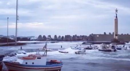 Ο Ζορμπάς «χτύπησε» τις ακτές της Σικελίας
