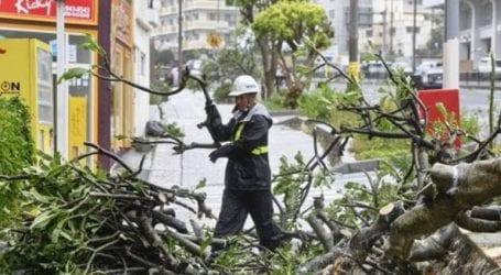 Στους 45 ανέρχεται ο αριθμός των τραυματιών από το πέρασμα του τυφώνα Τράμι