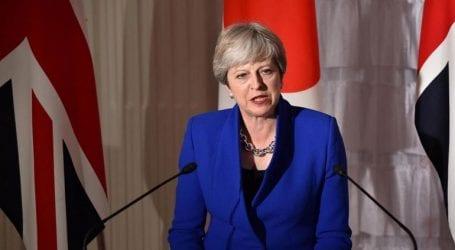 Η πρωθυπουργός Μει κάλεσε το κόμμα της να ενωθεί ενόψει του Brexit
