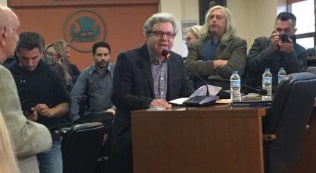 Ε.Τσάμης: Δεν προλογίζω την εκδήλωση του Δήμου Βόλου