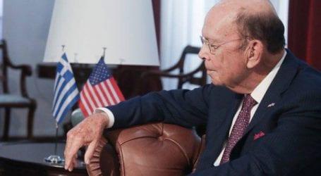 Συνάντηση Δραγασάκη με τον υπουργό Εμπορίου των ΗΠΑ