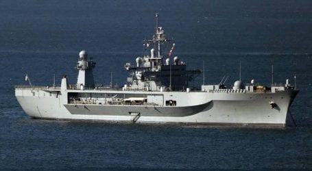 Η ναυαρχίδα του 6ου αμερικάνικου στόλου στη Θεσσαλονίκη