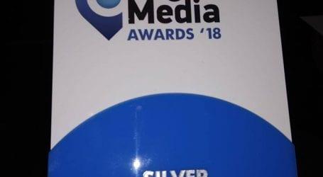 Βράβευση εφημ. ΤΑΧΥΔΡΟΜΟΣ στα Regional Media Awards 2018