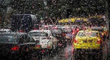 Μποτιλιάρισμα στους δρόμους της Αττικής