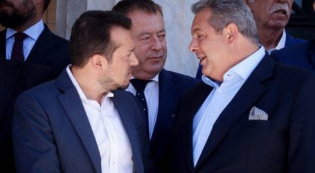«Υπάρχει ένα πραγματικό πρόβλημα για τη συμφωνία των Πρεσπών, η διαφωνία Καμμένου»